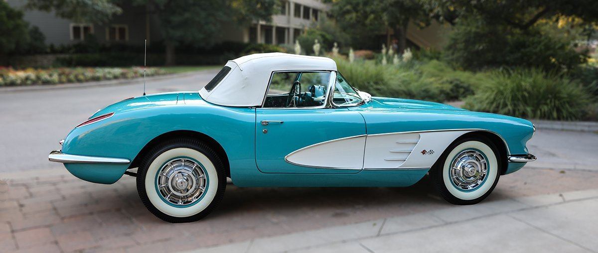 The '60 Chevy Corvette